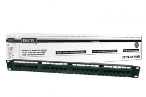 PANNELLO PATCH 24 PORTE RJ45 1U UTP (DN91524U)