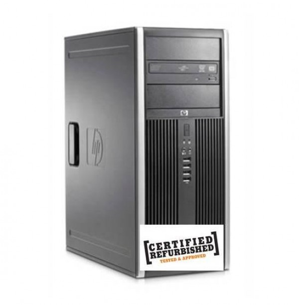 PC 8000 ELITE CMT INTEL CORE2 DUO E8500 4GB 500GB WINDOWS 7 - RICONDIZIONATO - GAR. 12 MESI