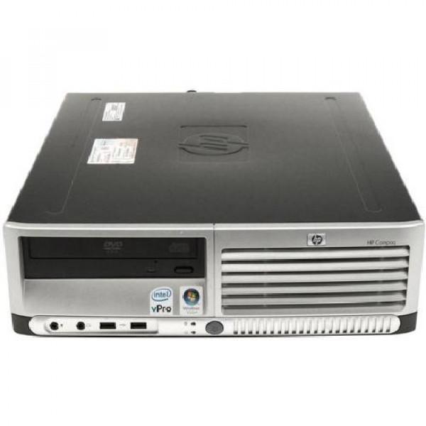 PC DC7700 SFF INTEL CORE2DUO E6300 1GB 80GB WINDOWS XP - RICONDIZIONATO - GAR. 12 MESI