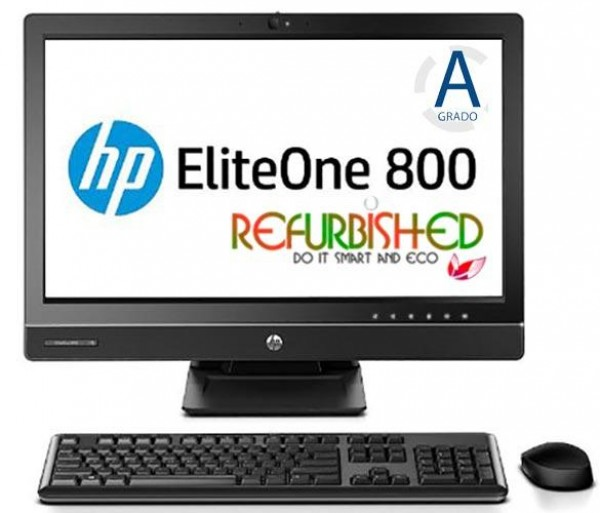PC ELITEONE 800 G1 23 ALL IN ONE CORE I7-4790S 8GB 1TB 23 TOUCHSCREEN WINDOWS 10 - RICONDIZIONATO - GAR. 12 MESI