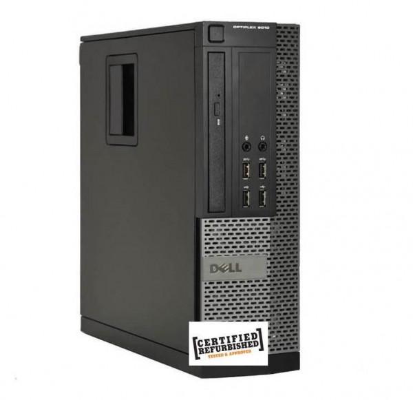 PC OPTIPLEX 790 SFF INTEL CORE I3-2100 4GB 250GB WINDOWS 7 PRO  (DA INSTALLARE UTILIZZANDO IL PRODUCT KEY SITUATO SULL'ETICHETTA) - RICONDIZIONATO - GAR. 12 MESI