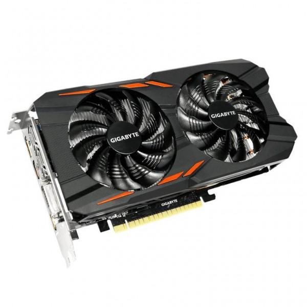 SCHEDA VIDEO GEFORCE GTX1050 WINDFORCE OC 2G 2 GB PCI-E (GV-N1050WF2OC-2GD)
