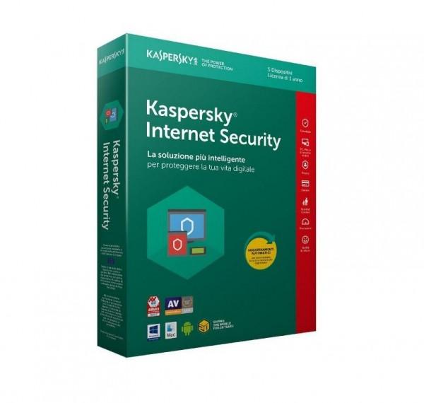 SOFTWARE INTERNET SECURITY 2018 5 CLNT (KL1941T5EFS-8SLIM)