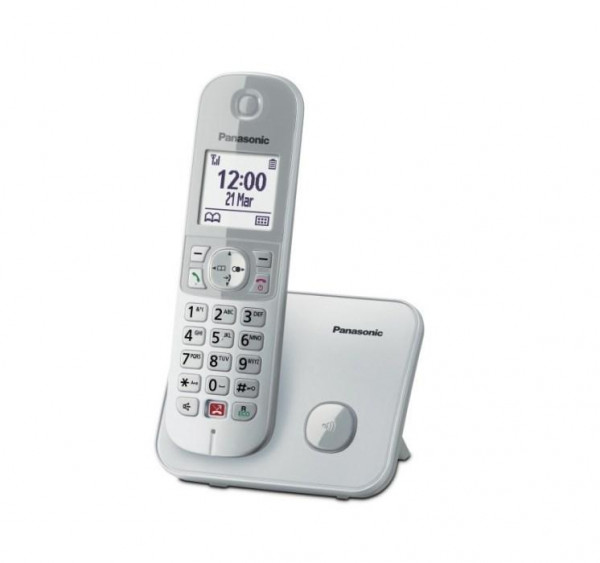 TELEFONO CORDLESS KX-TG6851JTS SILVER