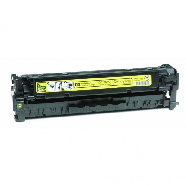 TONER COMPATIBILE CC532A718 GIALLO