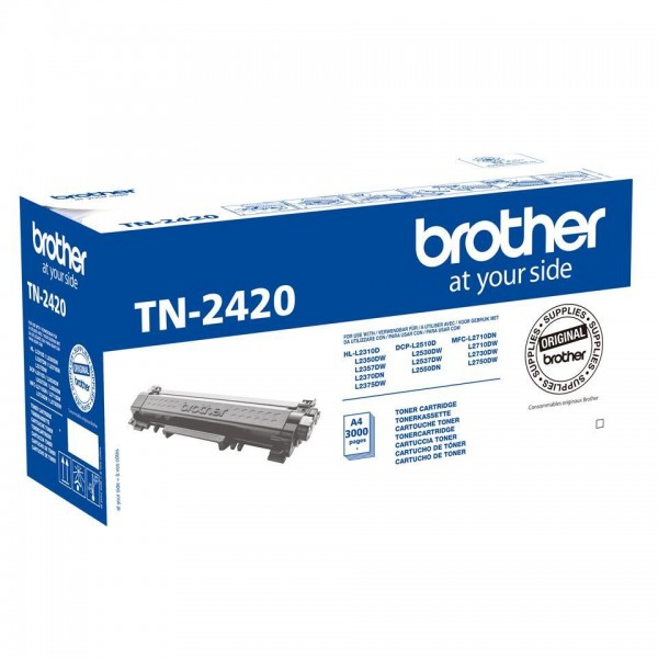 TONER ORIGINALE BROTHER TN-2420 NERO (TN2420)