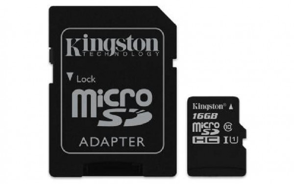 TRANS FLASH 16 GB (SDCS16GB) CLASS 10