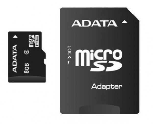 TRANS FLASH 8 GB (AUSDH8GCL4-RA1)