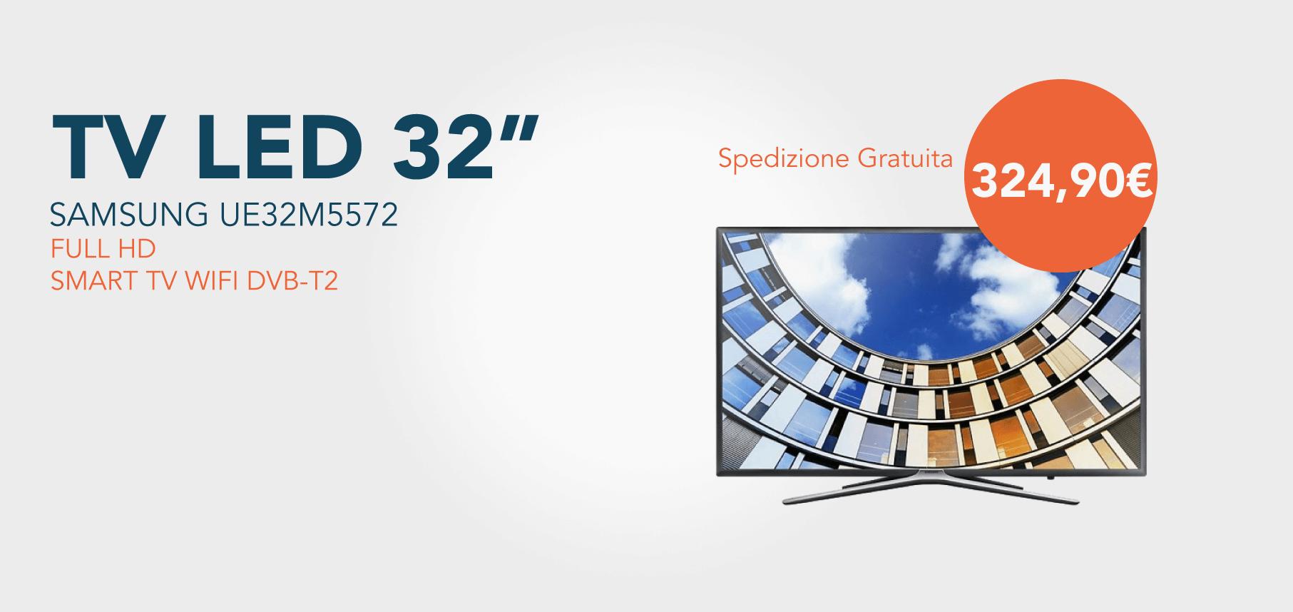"""TV LED 32"""" UE32M5572 FULL HD SMART TV WIFI DVB-T2"""